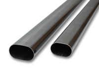 Stainless Steel Oval Tubing, Straight Lengths
